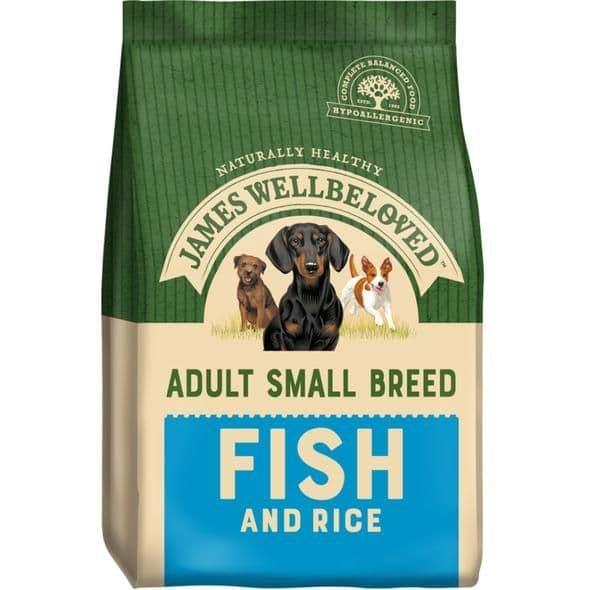 J/w adult small breed fish & rice
